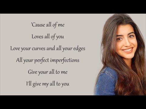 All of Me - John Legend (Luciana Zogbi Cover)(Lyrics)