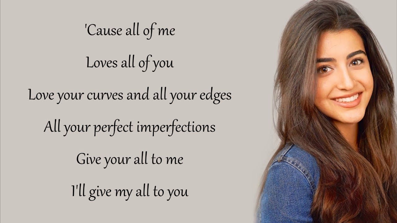 All of me female version lyrics