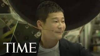 SpaceX Introduces Japanese Billionaire As First Private Passenger To Fly Around The Moon | TIME