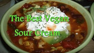 The Best Vegan Sour Cream Recipe