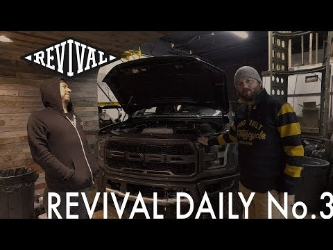 Ford Raptor Upgrade adds 70 horsepower!!! // Revival Daily No. 3