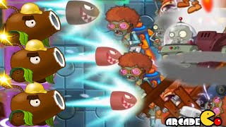 Plants Vs Zombies 2 Kung World: Far Future Coconut Cannon On Fire Day 29 (China IOS Version)