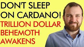 DON'T SLEEP ON CARDANO! TRILLION DOLLAR CRYPTO BEHEMOTH AWAKENING - WITH CHARLES HOSKINSON