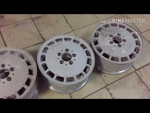 Мерцающий хром на диски, для мерседес W124