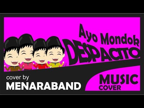 Despacito cover by MENARA BAND (Ayo Mondok Versi Santri)