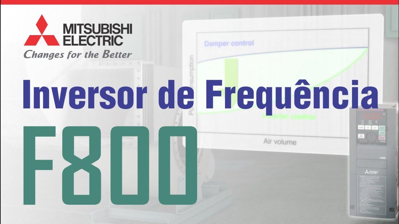 Conheça o Inversor de Frequência FR-F800 da Mitsubishi Electric