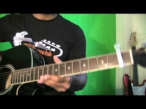 Tu meri guitar chords strumming lesson Bang Bang