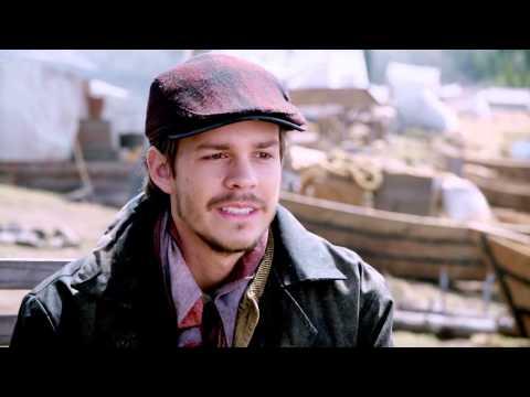 "Klondike: Johnny Simmons ""Jack London"" On Set Interview"