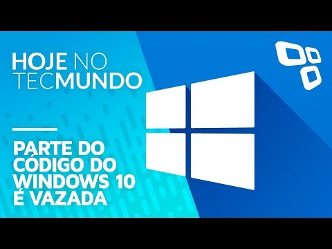 Parte do código do Windows 10 é vazada - Hoje no TecMundo