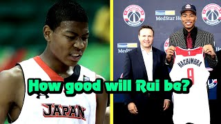 How GOOD Can Rui Hachimura Actually Be?