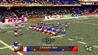 Gameplay sur Jonah Lomu Rugby sur PS1