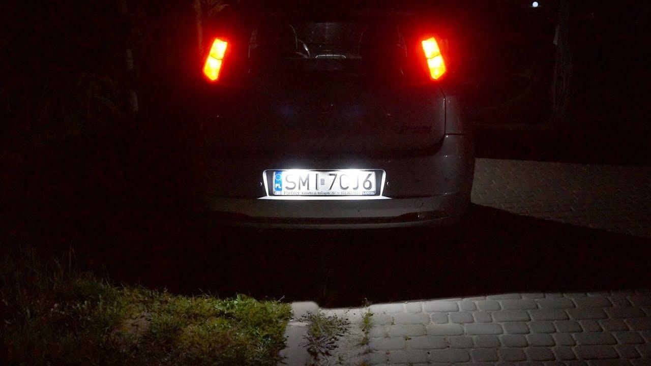 1x Fiat Punto 188 Bright Xenon White LED Number Plate Upgrade Light Bulb