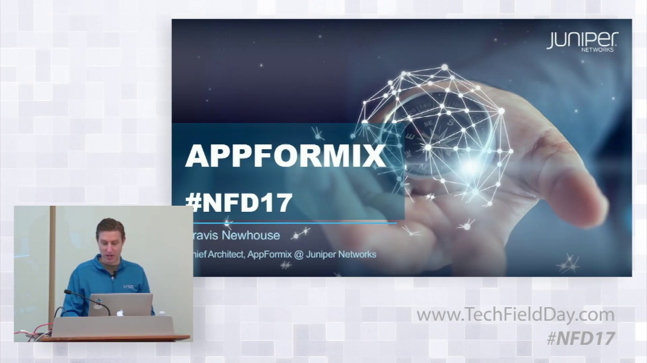 Juniper Networks AppFormix Demonstrations with Travis Newhouse