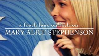 MARY ALICE STEPHENSON IN THE AMERICAN EXPRESS  SKYBOX