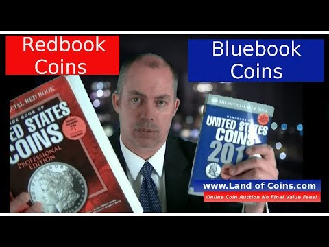 Coin Price Guide Whats The Difference Redbook Or Bluebook Coin Values United States Coin Values