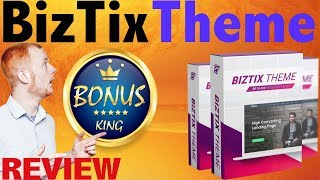 BizTix WordPress Theme Review And Bonus King Bonuses - AstroBl…