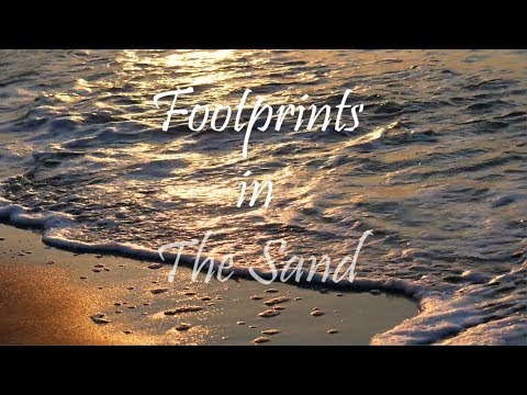Footprints In The Sand God Quotes Youtube