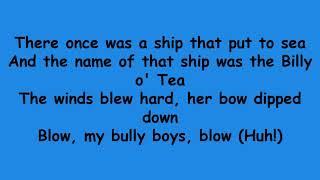 Nathan Evans - Wellerman (Lyrics)