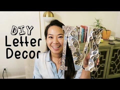 ❤️ DIY ROOM DECOR - WOODEN LETTERS - DO IT YOURSELF