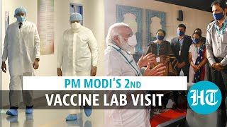 Watch: PM Modi's 2nd Covid vaccine lab visit to Bharat Biotech in Hyderabad