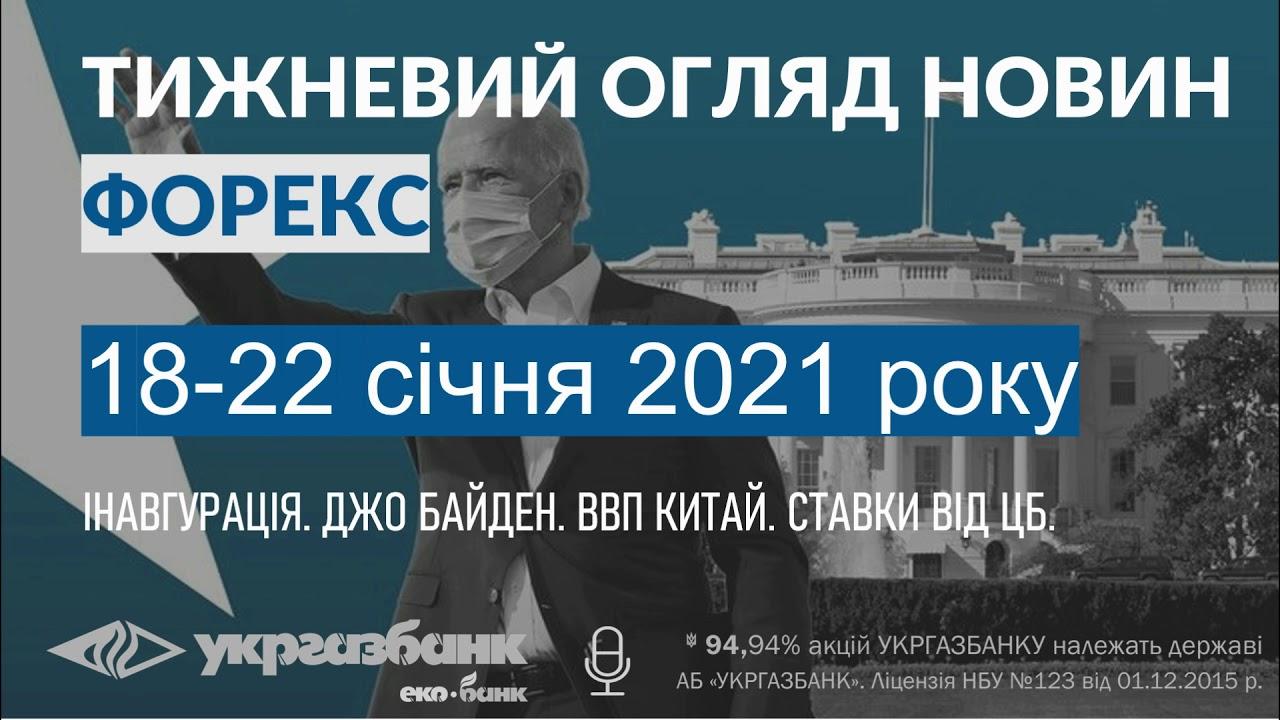 ПОДКАСТ: Тижневий огляд новин Forex / 18-22 січня 2021 року