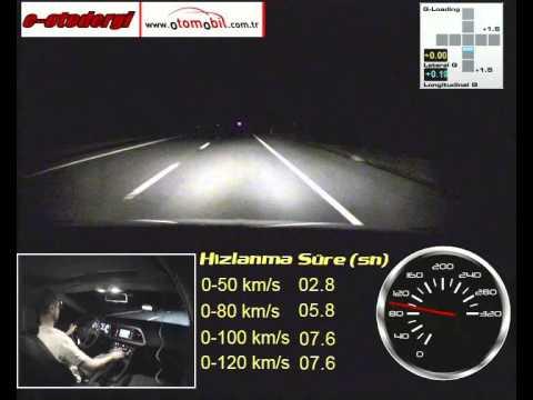 2010 Seat Leon 1.4 TSİ (0-100 km/s) Hızlanma Testi / Acceleration Test
