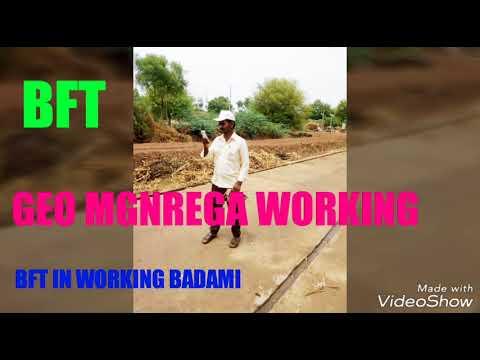 Barefoot technicins working  BFT MGNREGA
