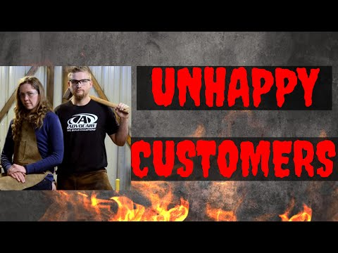 Dealing with Unhappy Customers // Running Your Blacksmith Business