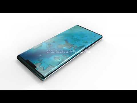 Huawei Mate 30 Pro 360 renders: waterfall display, no physical volume buttons [EXCLUSIVE]