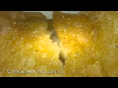 New! Chicken McNuggets contain strange fibers - microscopic forensic investigation by the Health Ran
