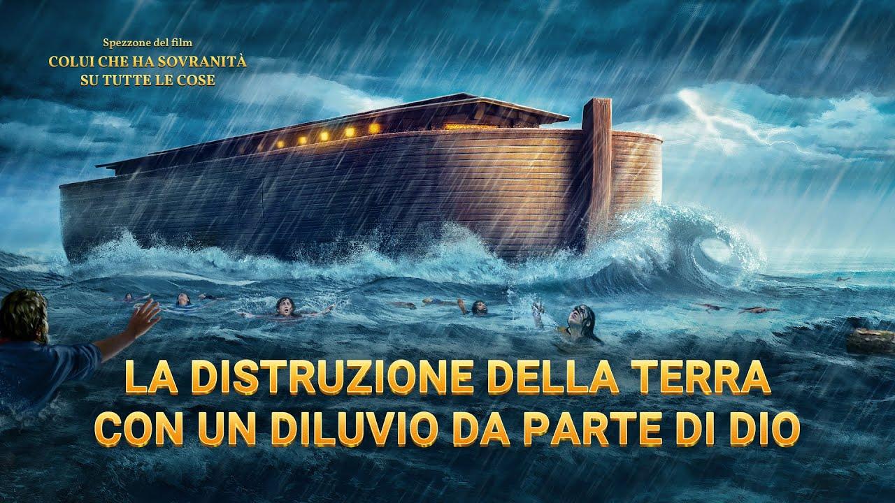 Storia della Bibbia - La distruzione della terra con un diluvio da parte di Dio
