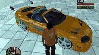 COMO PONER AUTOS REALES EN GTA SAN ANDREAS