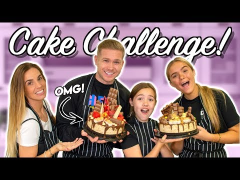 EPIC CAKE CHALLENGE!