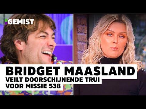 BRIDGET: 'Benieuwd WIE ANDRÉ VOLGEND JAAR gaat VRAGEN!' | 538 Gemist