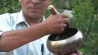 Singing Bowl The musical instrument of Nepal.