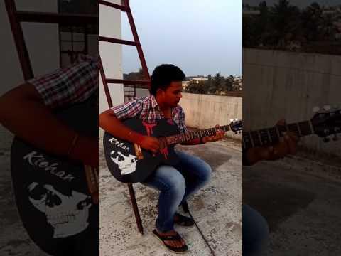 Katamarayudu theme on guitar( TITTLE TRACK )
