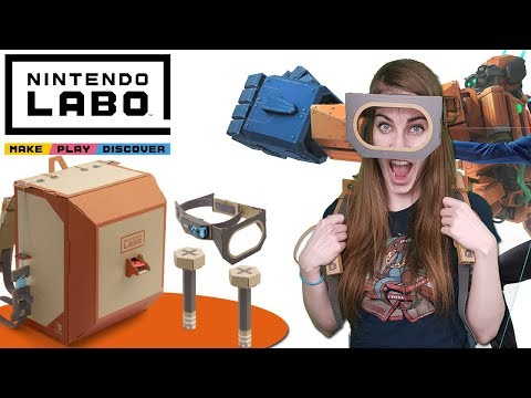 LABO Assembly & Gameplay [ROBOT KIT] // Nintendo LABO