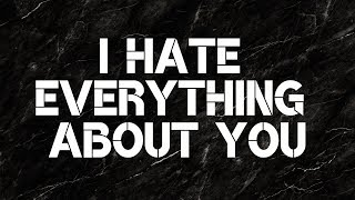 I Hate Everything About You - Three Days Grace (Lyrics) thumbnail
