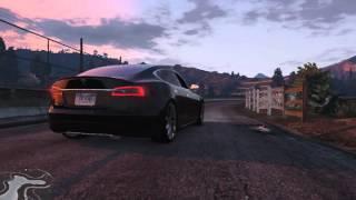 GTA V | TESLA MODEL S 2014 | GTA 5 MOD