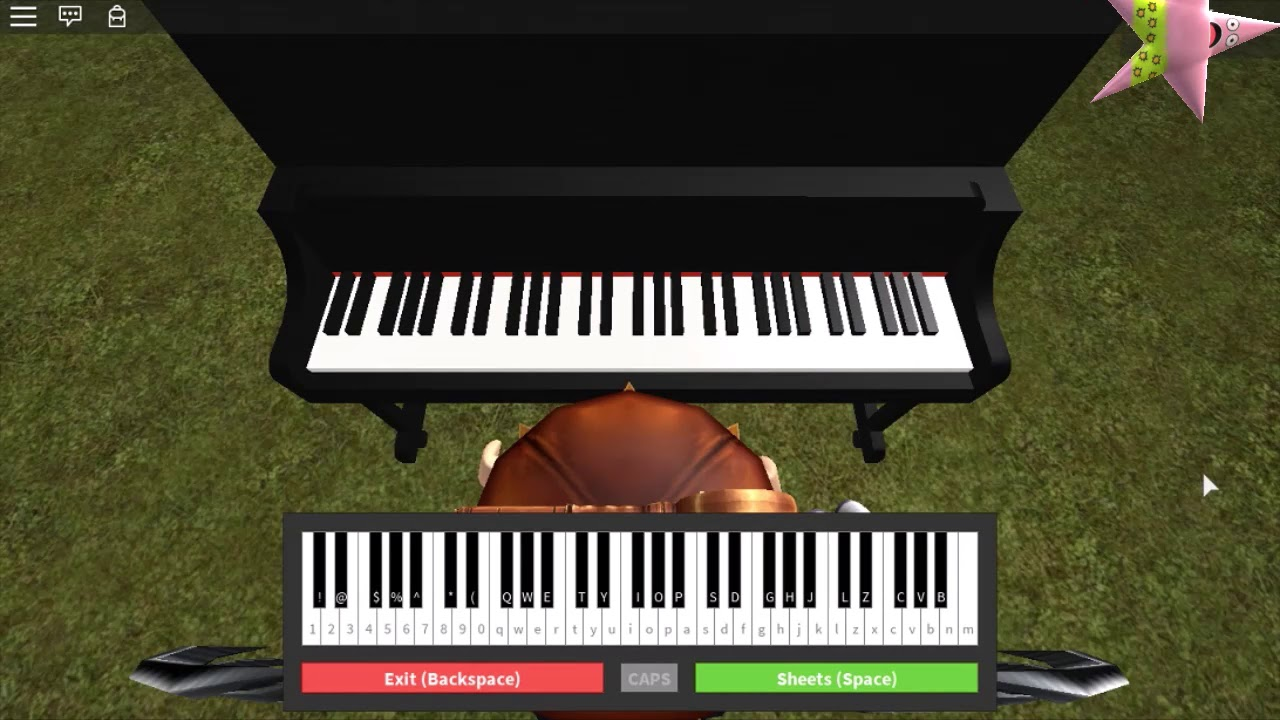 How To Play Friends On Roblox Piano Easy Youtube