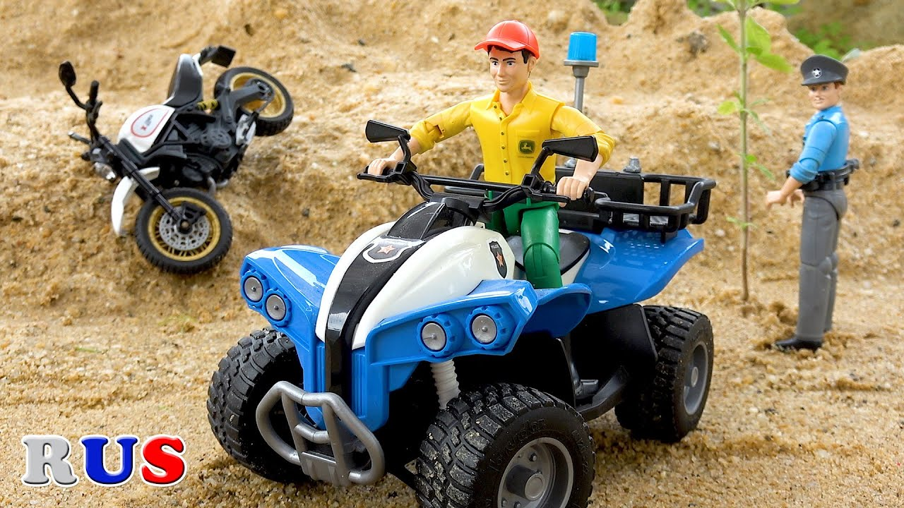 Полицейская погоня вор Автомобиль! мультики про машинки для детей