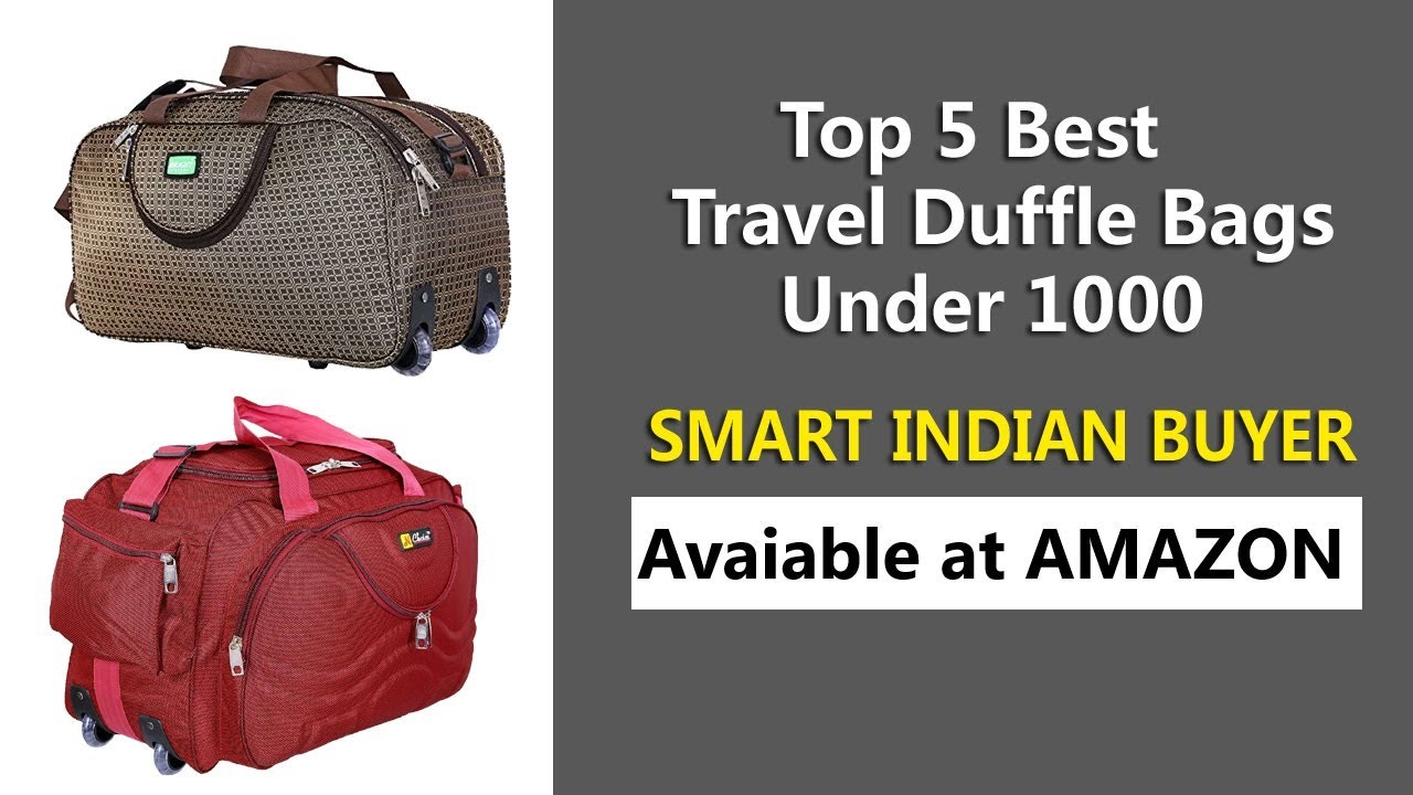 2d37a86f51ef Top 5 Best Travel Duffle Bags Under 1000 Rs