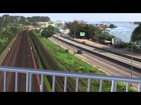 (A VOIR) Présentation du projet de Trains Urbain à Abidjan. (Cote d'ivoire)