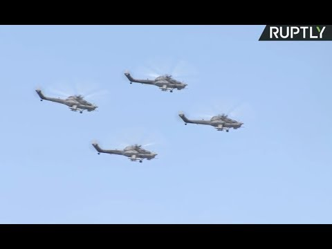 Russian aviation teams compete at Aviadarts 2018 (streamed live)