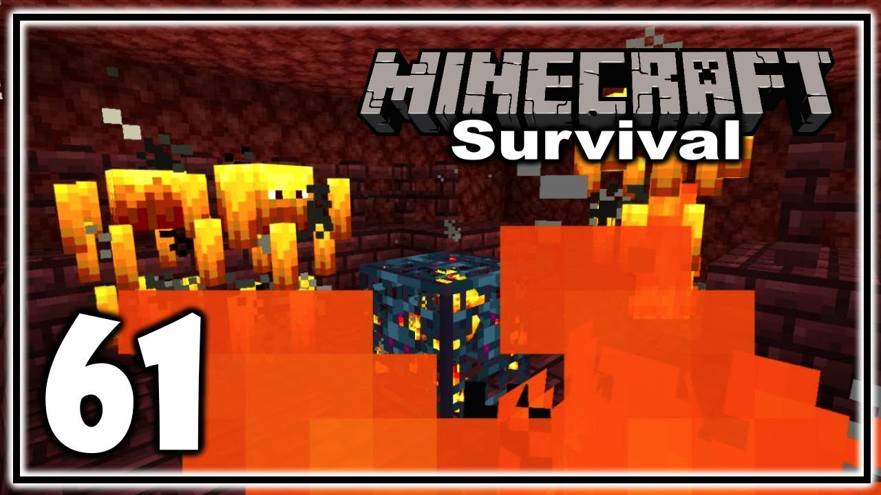Lucky Nether Fortress Find! | Minecraft Survival Let's Play | Episode 61