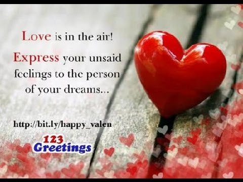 Special Valentines Day Wish YouTube – 123 Greetings Valentines Day Cards
