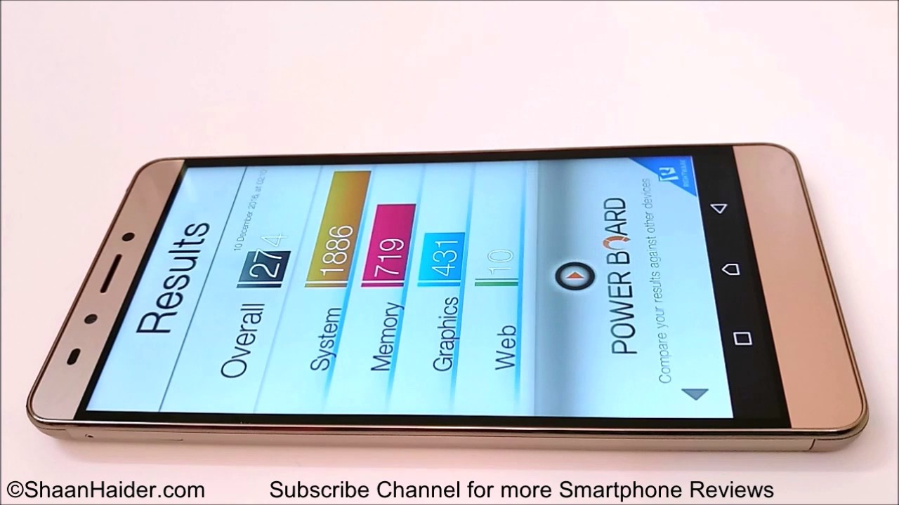 Infinix Note 3 Pro X601 - Benchmark Tests and Scores - YouTube