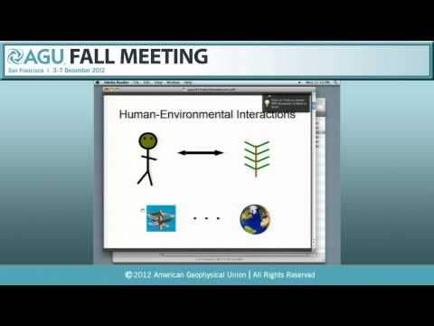 EP32B. The Future of Human-Landscape Systems II - 2012 AGU Fall Meeting