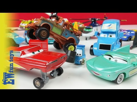 Disney Pixar Cars Diecast Toys Part 3 Mattel with Mater New カーズ 2015