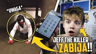 JEFF THE KILLER NOWA PRZERAŻAJĄCA POSTAĆ KTÓRA ATAKUJE NIEWINNE OSOBY..(POMOCY!!)